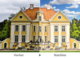 Immobilie Vorher-Nachher