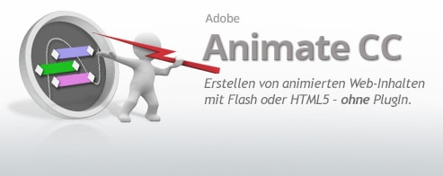 Adobe Animate CC  – Aufbau-Schulung