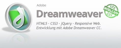 Adobe Dreamweaver CC  – Entwickler-Schulung