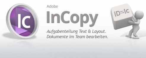 Adobe InCopy CC/CS6  – Schulung für Grafik-Designer