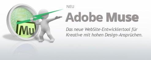 Adobe Muse CCEinsteiger-Schulung