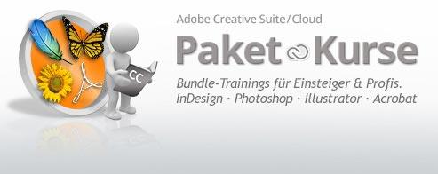 Adobe PAKET Grafik-Schulung  – für Marketing-Mitarbeiter  – und Einsteiger