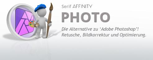 Affinity PHOTO Grundlagen – Schulung für Einsteiger + Umsteiger