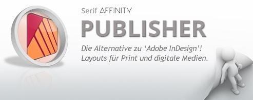 Affinity PUBLISHER Grundlagen – Schulung für Einsteiger + Umsteiger