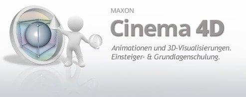 Maxon® Cinema 4DGrundlagen-Schulung
