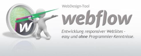 Webflow – Schulung zur Erstellung responsiver Layouts und Websites