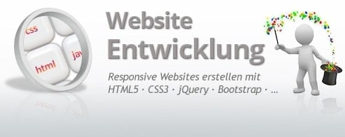 Responsive Website-Entwicklung - WebDesign 'Power-Training'