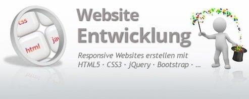 Responsive Website-Entwicklung + WebDesign Praxis-Training
